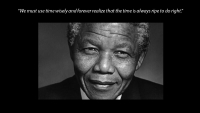 AQRate's Mandela Day initiative